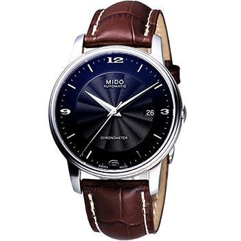 MIDO 經典機械腕錶(M0104081605710)-黑