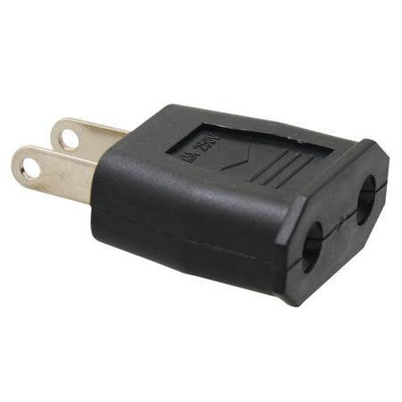 【Kamera】圓轉扁轉換插頭 歐規220V轉美規110V (5入)
