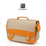 Herringbone STUN BAG-MEDIUM相機包(H82081米黃色)