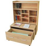強力多用途置物櫃-櫻桃木色