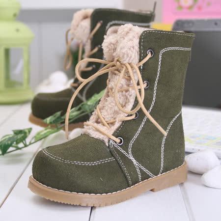 (購物車)KUKI 酷奇時尚個性炫麗長筒靴s3658 軍綠