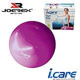 《購犀利》日本品牌【JOEREX】艾可兒健身球/韻律球/瑜珈球/彈力球/塑身球(附打氣筒)