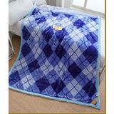 【日本花藝-素雅風格】超細纖維雙層舒眠毛毯(150x200cm)