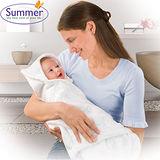 美國 Summer Infant Swadding Wrap 【柔軟透氣育兒包巾 - 水綠】雙面可用