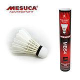 《購犀利》日本品牌【MESUCA】室外練習用藍星4號鴨毛羽毛球-12入