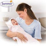 美國 Summer Infant Swadding Wrap 【柔軟透氣育兒包巾 - 粉紅】雙面可用