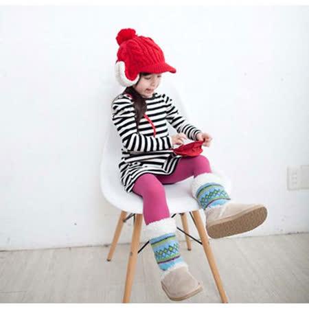 韓國設計製造~黑白條紋小公主袖上衣/小洋裝~k17632