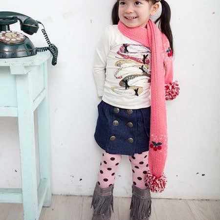 韓國設計製造~排扣中性俏皮牛仔裙~k17489