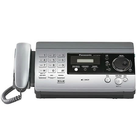 Panasonic國際牌 感熱紙傳真機 KX-FT506 【閃銀色】