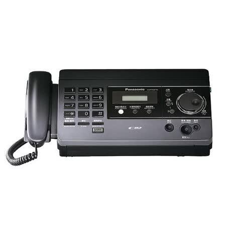 Panasonic國際牌 感熱紙傳真機 KX-FT518 【鈦黑色】自動裁紙