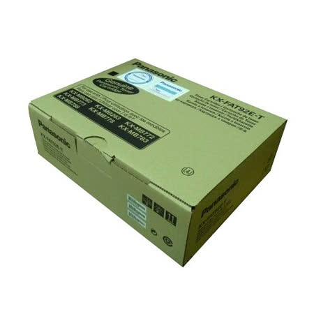 【原廠】國際Panasonic KX-FAT92E-T 傳真機碳粉 三支裝
