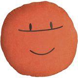 UFO悠活造型麂皮抱坐枕(O橘)