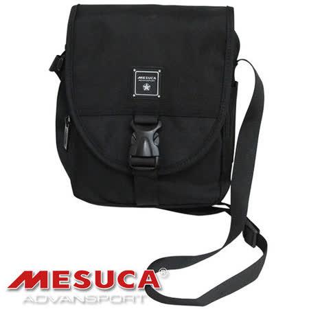《購犀利》日本品牌【MESUCA】時尚休閒側背包-黑☆多種隔層,實用小包☆