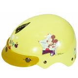 小米奇幼兒專用安全帽-淡黃2入