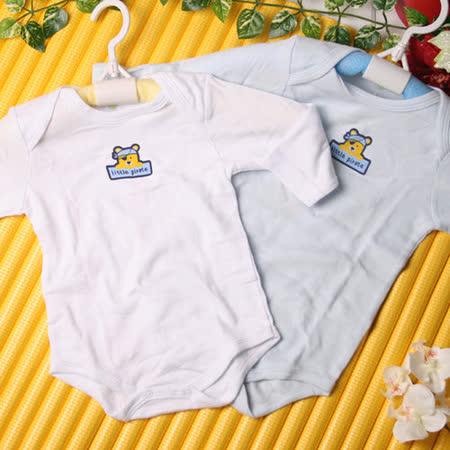(購物車)KUKI 酷奇簡俏皮純棉進口包屁衣/連身衣~k06189~11