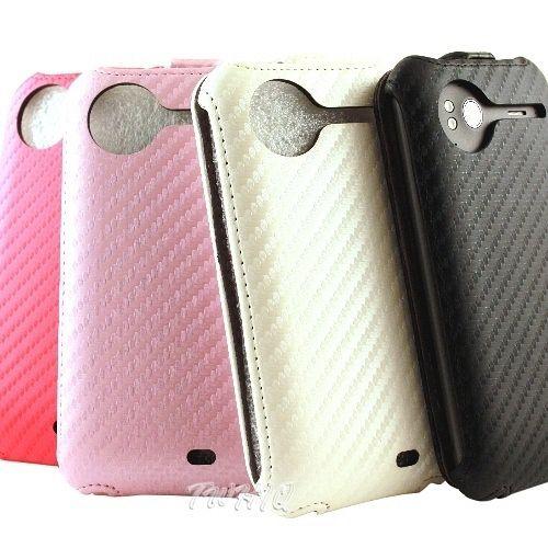 HTC Sensation XE 音浪機 動感卡夢紋 下掀式 手機皮套