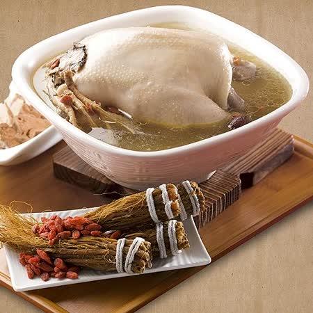 【123養生雞湯】人蔘雞/全雞(約2.5公斤/包)