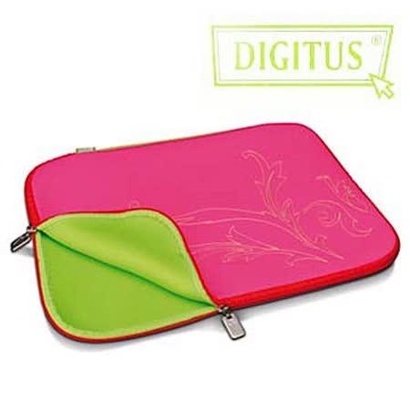 曜兆DIGITUS 德國品牌時尚潮流故事包13吋電腦防震/保護內袋(蜜糖脅誘)-粉紅