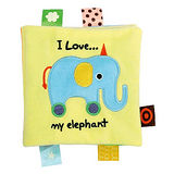 【Read & Play 布書】我愛我的大象