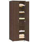 STYLEHOUSE 層板雙門衣櫃/胡桃木HF01