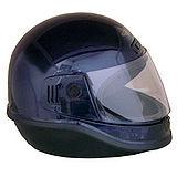 EVO台製素面全罩式機車安全帽-黑