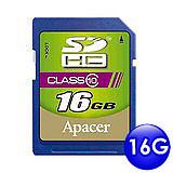 Apacer宇瞻 SDHC 16GB Class10 記憶卡