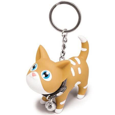 【Kat】凱特貓造型鑰匙圈 (虎斑小黃貓)
