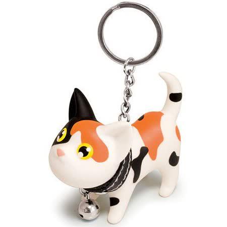 【Kat】凱特貓造型鑰匙圈 (小花貓)