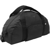 《GO TRAVEL》Foldaway 長型好摺疊旅行袋(黑)