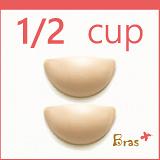 【內衣瞎拼】Bras+ 泡泡矽膠胸墊 - 1/2罩杯