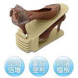 日本最暢銷《空間增量》日式創意鞋架(12入)