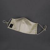 【竹炭任選】LACOYA   竹炭兒童口罩(AP046-5- 米黃)-2 件組
