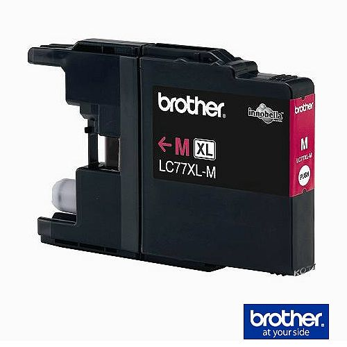 【原廠】Brother LC-77XLM 墨水匣 洋紅色《超大容量》