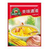 《桂格》得意的一天美味濃湯-火腿玉米60g*2入