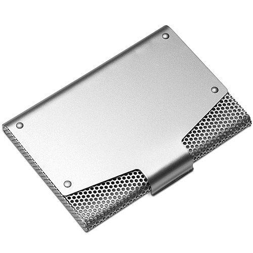 《REFLECTS》網紋證件名片盒 銀
