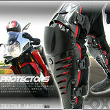 【FOX RAPTOR】硬式可活動機械式護膝組C99-0299
