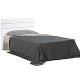《愷倫》3.5尺白色單人床(床頭片+床底)(12332-0)