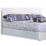 《愷倫》3.5尺白色單人床片(不含床底床墊)(12332-1)