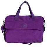 【Kipling】BASIC系列 可外掛二用15吋筆電包 亮麗紫3555-665