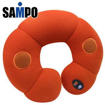聲寶~甜甜圈音樂按摩枕-超值2入組