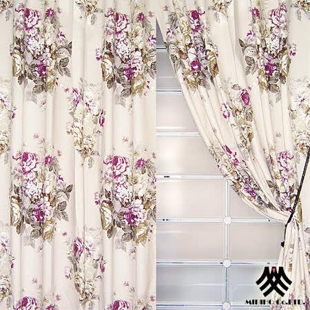【M.B.H-花季戀曲】落地穿掛窗簾(270*230cm)