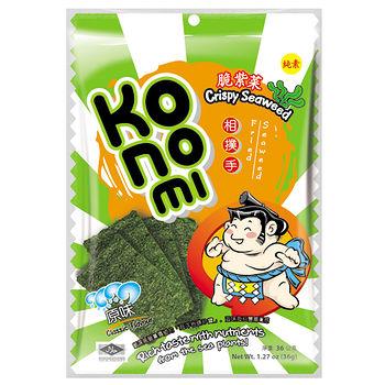 相撲手Konomi脆紫菜海苔-原味40g
