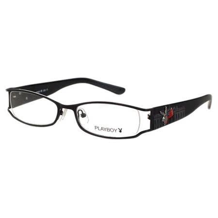 美國白宮系列!PLAYBOY-時尚光學眼鏡(黑色)PB82265