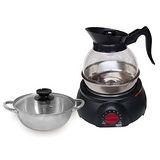 上豪料理兩用爐(湯鍋+泡茶組)KR-1586