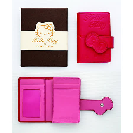 CROSS HKNCC Hello Kitty 名片夾