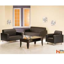 金吉利~(黑色)PVC皮沙發~1+2+3人組