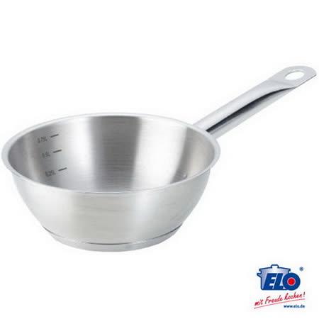 【網購】gohappy快樂購物網《德國ELO》不鏽鋼單柄碗形湯鍋(20公分)哪裡買24 小時 量販 店