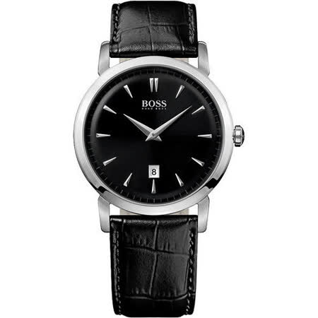 Hugo Boss 完美簡約復刻腕錶(H1512637)-黑