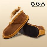 GOA保暖軟底休閒童鞋(棕色)
