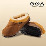GOA兒童保暖麵包拖鞋(棕色)